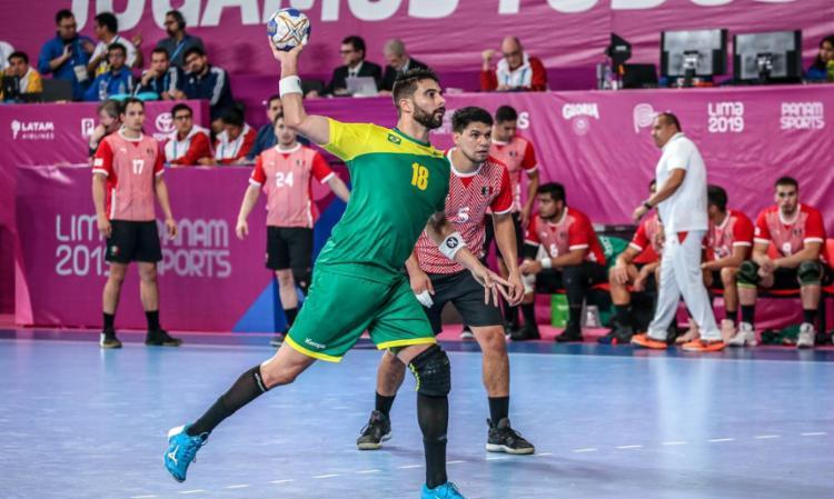 Ponteiro Felipe Borges testou positivo na chegada da equipe ao Egito   Foto: Pedro Ramos   Rede do Esporte-GOV - Foto: Pedro Ramos   Rede do Esporte-GOV