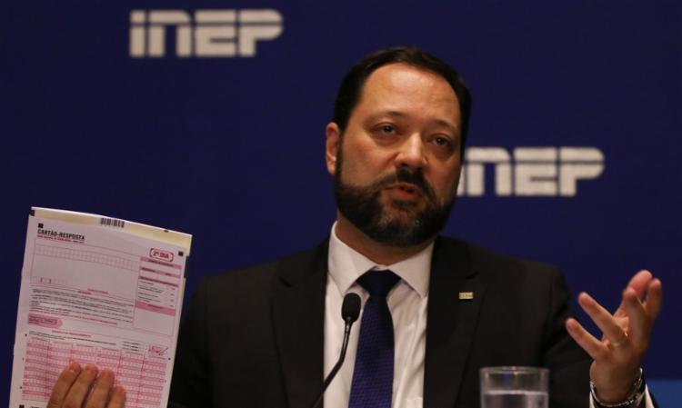 Segundo ele, o Inep recorrerá de eventuais decisões judiciais contrárias à aplicação da prova   Foto: Fabio Rodrigues Pozzebom   Agência Brasil - Foto: Fabio Rodrigues Pozzebom   Agência Brasil