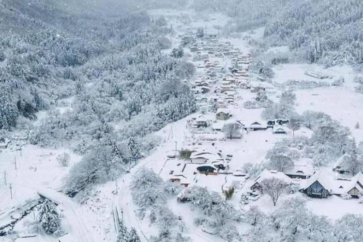 Acidente aconteceu após uma tempestade de neve atingir uma rodovia na cidade de Osaki, no norte do país | Foto: Reprodução | Redes Sociais - Foto: Reprodução | Redes Sociais