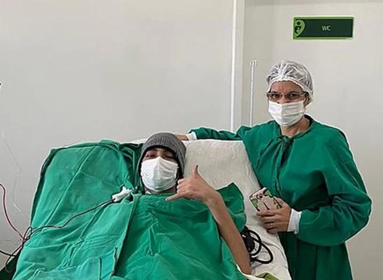 Atualmente Kaio se encontra hospitalizado no Hospital IMIP, em Recife   Foto: Divulgação - Foto: Divulgação