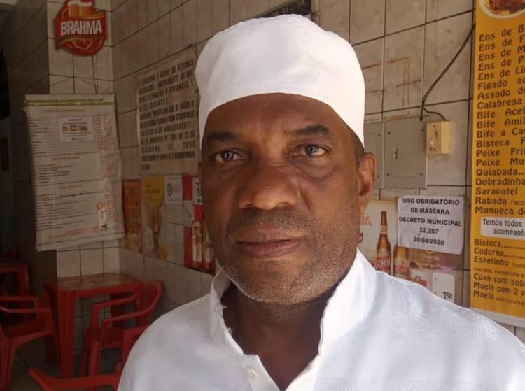 Luiz Conceição dos Santos é morador do bairro da Mouraria há 27 anos   Foto: Fernando Valverde   Ag. A TARDE - Foto: Fernando Valverde   Ag. A TARDE