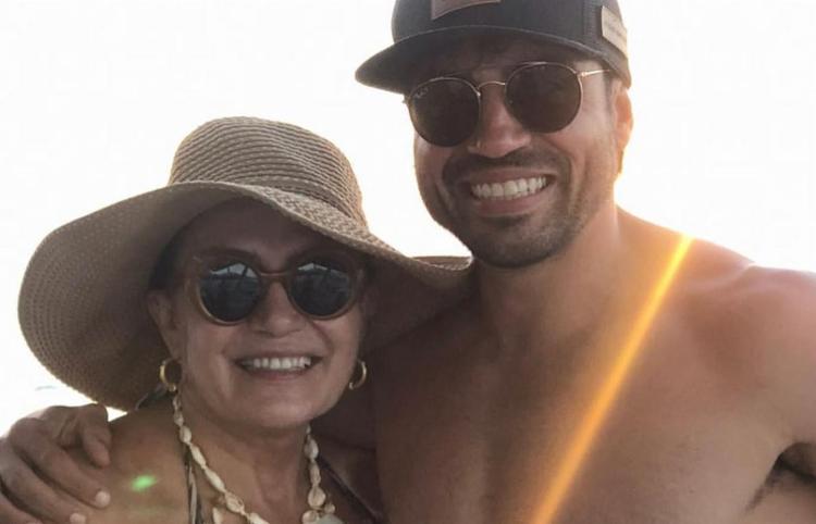 Elza Campelo usou as redes sociais para fazer homenagem ao filho nesta quarta-feira, 13 I Foto: Reprodução - Foto: Reprodução