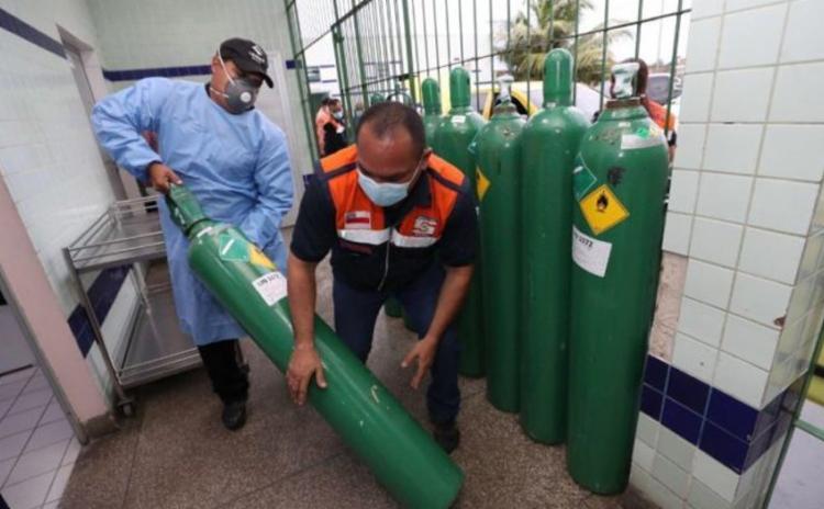 Unidades de saúde no Amazonas ficaram sem oxigênio após a explosão de casos da Covid-19 | Foto: Herick Pereira | Secom - Foto: Herick Pereira | Secom