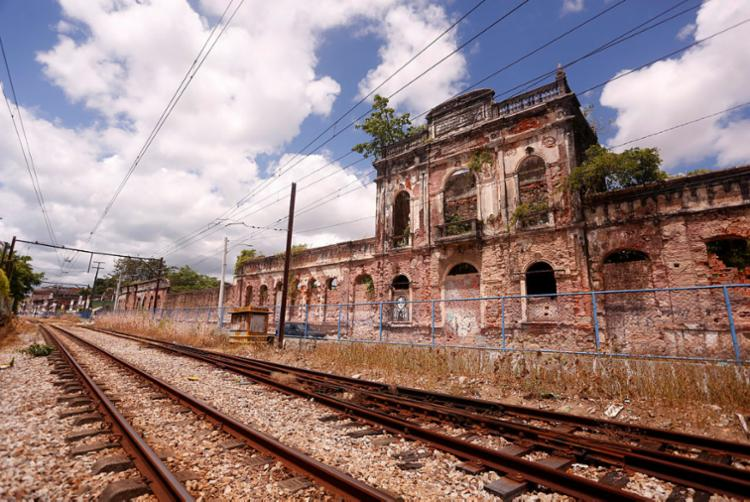 Antiga fábrica de tecidos São Braz, em Plataforma | Foto: Olga Leiria | Ag. A TARDE - Foto: Olga Leiria | Ag. A TARDE