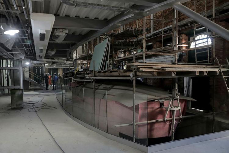 Espaço terá 540 m² de exposição permanente   Foto: Uendel Galter   Ag. A TARDE