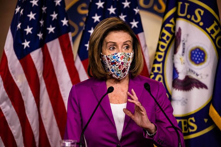 Nancy Pelosi é a presidente da Câmara de Representantes dos Estados Unidos | Foto: Samuel Corum | AFP - Foto: Samuel Corum | AFP