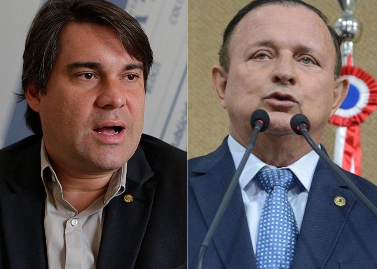 Niltinho disputa a chefia da Alba pelo PP; Adolfo Menezes é o candidato do PSD | Fotos: Raul Spinassé | Ag. A TARDE e Alba | Divulgação - Foto: Raul Spinassé | Ag. A TARDE e Alba | Divulgação