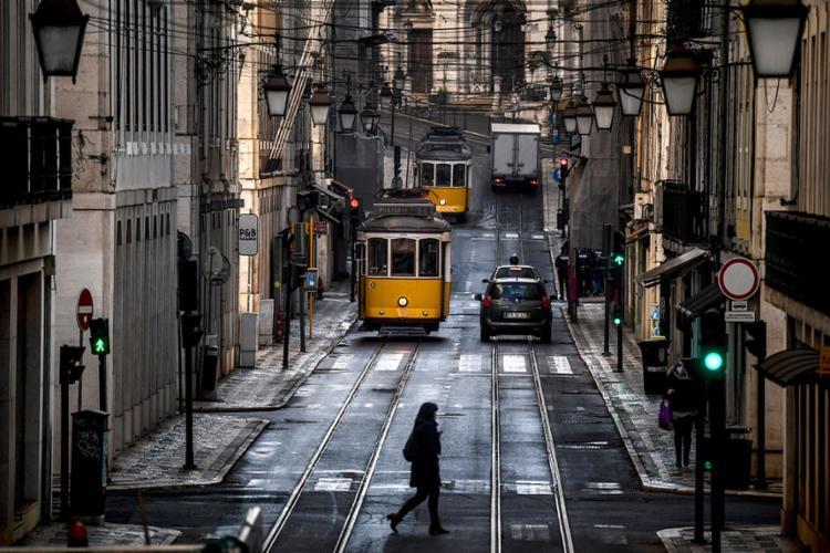 Os cerca de 10 milhões de portugueses estão submetidos a um segundo confinamento desde 15 de janeiro | Foto: Patricia de Melo Moreira | AFP - Foto: Patricia de Melo Moreira | AFP