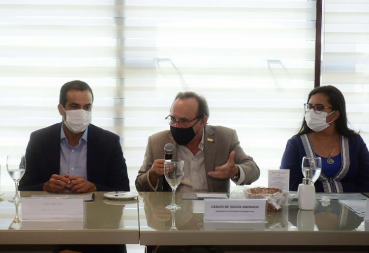 Almoço reuniu políticos e personalidades do comércio baiano   Foto: Betto Jr   Secom - Foto: Betto Jr   Secom