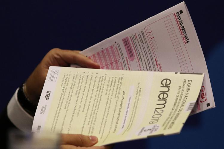 Provas são de linguagens e ciências humanas | Foto: Rodrigues Pozzebom | Agência Brasil | 20.01.2020 - Foto: Rodrigues Pozzebom | Agência Brasil | 20.01.2020