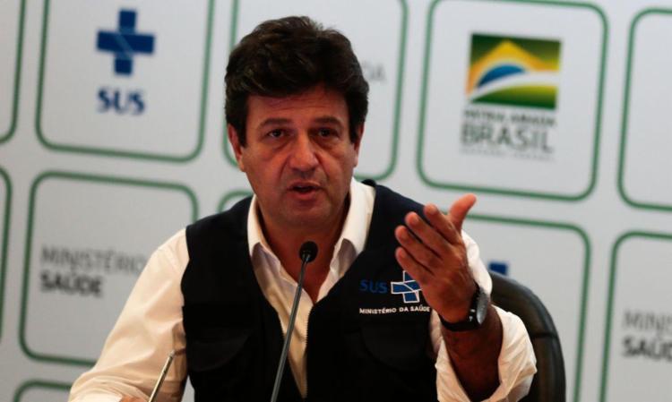 Ex-ministro da Saúde é visto com um dos nomes para as próximas eleições presidenciais - Foto: Agência Brasil