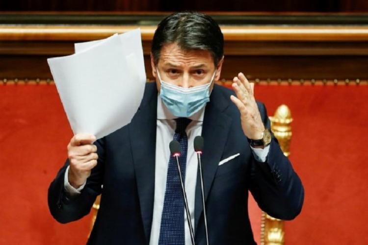 Este é o segundo pedido de renúncia de Giuseppe Conte - Foto: Reprodução