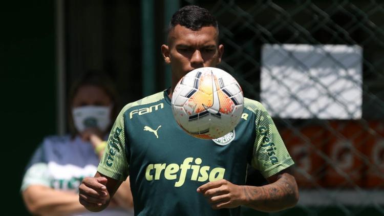 O Verdão poderá contar com o retorno do jovem atacante Gabriel Veron, recuperado de lesão na coxa   Foto: Cesar Grecco   Palmeiras - Foto: Cesar Grecco   Palmeiras
