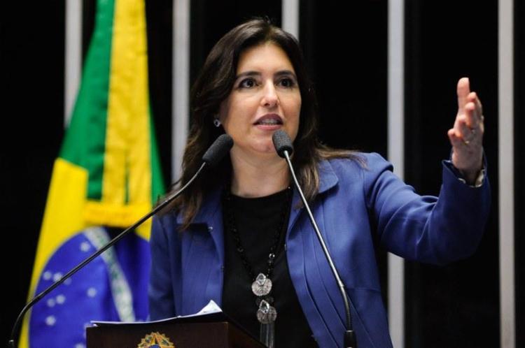 A decisão de lançar Tebet tem consenso entre variados grupos do partido   Foto: Moreira Mariz   Agência Senado - Foto: Moreira Mariz   Agência Senado