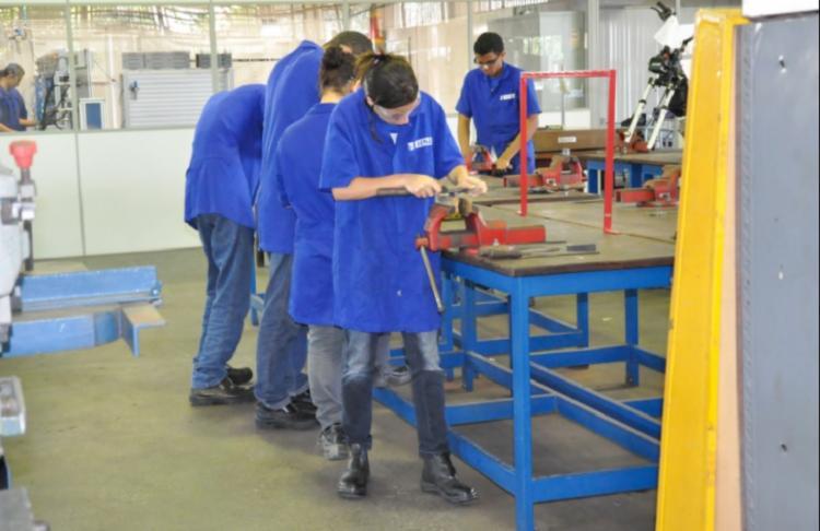Senai oferece 823 vagas gratuitas de cursos de aprendizagem industrial básica - Foto: Divulgação
