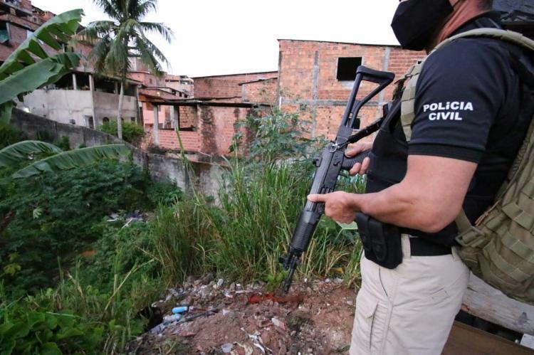 Mandados de prisão e de busca são cumpridos nos estados da Bahia e Maranhão | Foto: Divulgação | SSP-BA - Foto: Divulgação | SSP-BA