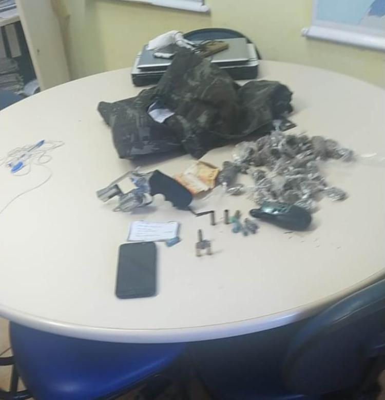 Ele ainda era investigado por tráfico de drogas e posse ilegal de arma de fogo | Foto: Divulgação | SSP-BA - Foto: Divulgação | SSP-BA