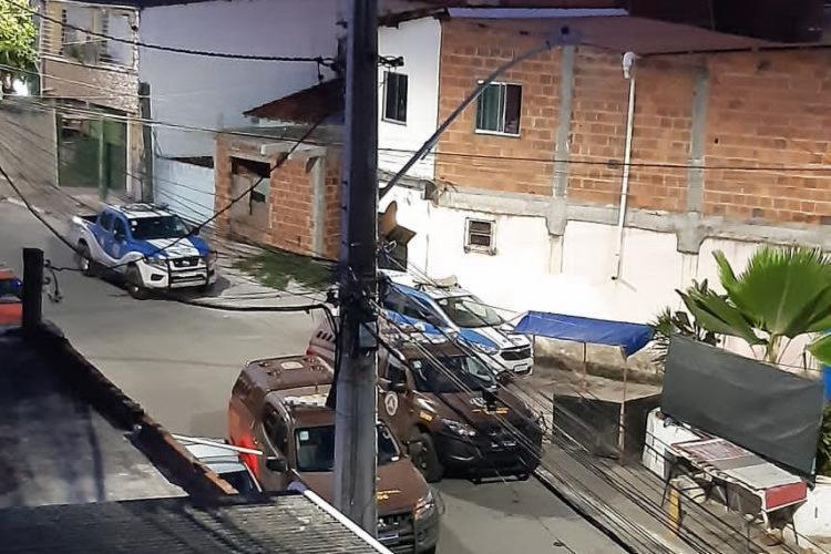 O caso foi registrado na escadaria do bairro, nas proximidades da rua Soares Filho   Foto: Reprodução - Foto: Divulgação