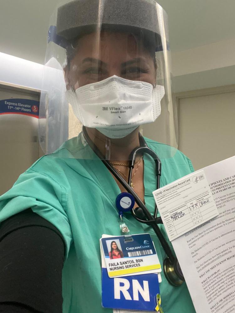Faila Pereira atua na linha de frente contra o coronavírus, em um hospital no estado da Virginia, Estados Unidos | Foto: Arquivo Pessoal - Foto: Arquivo Pessoal