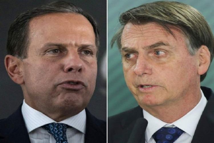 Bolsonaro e Dória