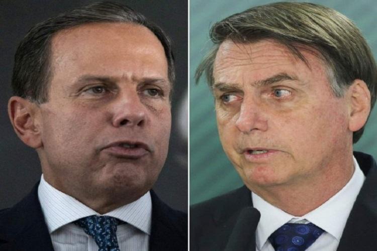 O governador de São Paulo, João Doria, contraponto a Bolsonaro na política de vacinas do país, estará presente no evento. - Foto: Reprodução