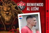 Vitória anuncia contratação de atacante paraguaio | Foto: Divulgação | E.C.Vitória