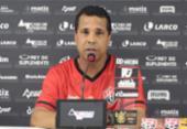 Rodrigo Chagas afirma que vai manter titulares para jogo desta quarta | Foto: Reprodução | TV Vitória