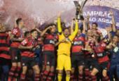 Mesmo derrotado pelo São Paulo, Flamengo é campeão brasileiro | Foto: Lucas Figueiredo / CBF