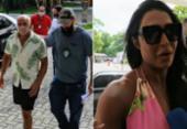 Gracyanne Barbosa chega à polícia logo após prisão de Belo | Foto: AGNews