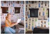 Influencer digital estadunidense expõe provas de traições em paredes do quarto do namorado | Foto: Reprodução | TikTok