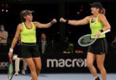 Stefani e Hayley batem chinesas e vão à final do WTA de Adelaide | Foto: