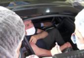 Aos 80 anos, ex-presidente Michel Temer é vacinado contra Covid-19 | Foto: Reprodução | TV Globo