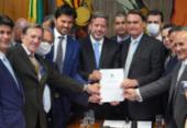 Bolsonaro entrega à Câmara PL que permite privatização dos Correios | Foto: Pablo Valadares | Câmara dos Deputados