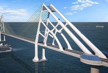 Avanço da Covid-19 suspende obras de infraestrutura na Bahia; construção de ponte é afetada | Divulgação