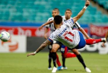 Bahia vence o Santos na Fonte Nova e garante vaga na Sul-Americana | Felipe Oliveira | EC Bahia