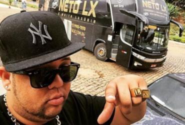 Cantor Neto LX é detido em Ilhéus   Divulgação