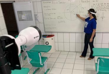 """""""Escolas já estão preparadas desde o ano passado"""", diz representante da GVE   Divulgação   Insp"""