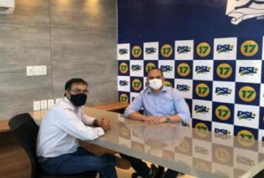 Presidentes do PSL-BA e MDB-BA vão a Brasília para firmar aliança | DIvulgação