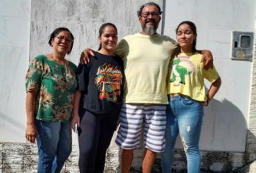 Ney Monstro, o do primeiro transplante de fígado, vai bem | Arquivo pessoal
