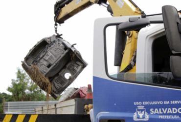 Operação Sucata já removeu 85 veículos das ruas este ano |