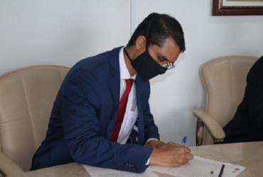 Procurador-geral do MPC é empossado para o biênio 2021/2022 | Reprodução