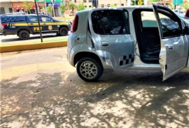 PRF prende suspeitos de receptação de carros no interior da Bahia