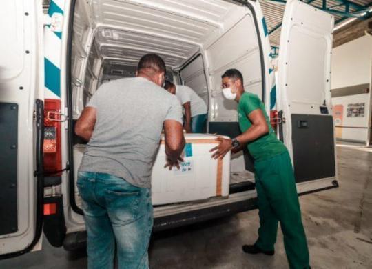 Salvador retoma vacinação de idosos a partir de 83 anos nesta quinta-feira | Igor Santos | Secom