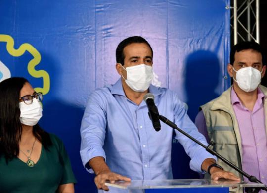 Prefeito Bruno Reis anuncia abertura de 160 leitos no Hospital Salvador   Valter Pontes   Secom