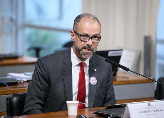 Acompanhe o depoimento do presidente da Anvisa, Antonio Barra Torres, à CPI da Covid | Pedro França/Agência Senado