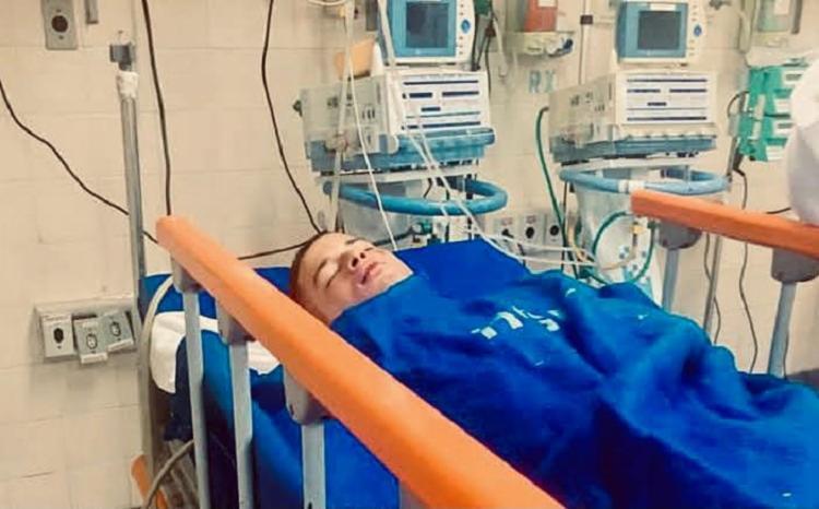 Cayan Lima ficou internado em coma devido às agressões que sofreu em setembro de 2019, após transmissão do jogo do Brasil, em Ondina | Foto: Arquivo Pessoal - Foto: Arquivo Pessoal