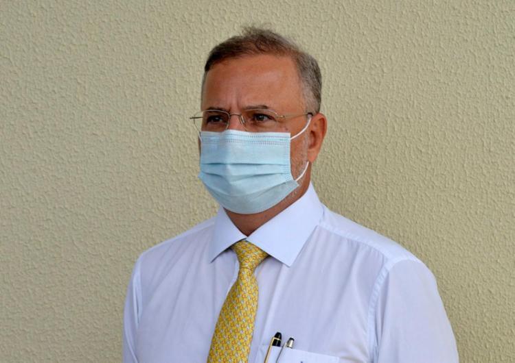 Centros de suporte respiratório devem ser instalados inicialmente em 12 hospitais, diz Fábio Vilas-Boas / Foto: Shirley Stolze   Ag. A TARDE - Foto: Shirley Stolze   Ag. A TARDE