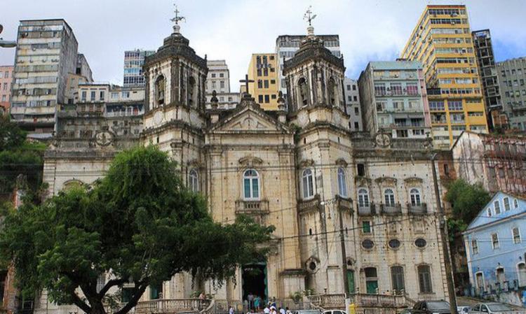 Mais segurança no entorno da Basílica da Conceição da Praia é um dos pedidos - Foto: Divulgação