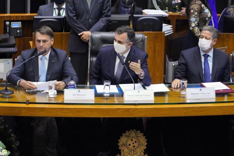 Esta é a primeira vez que Bolsonaro vai ao Congresso desde o primeiro ano do mandato   Foto: Pablo Valadares   Câmara dos Deputados - Foto: Pablo Valadares   Câmara dos Deputados