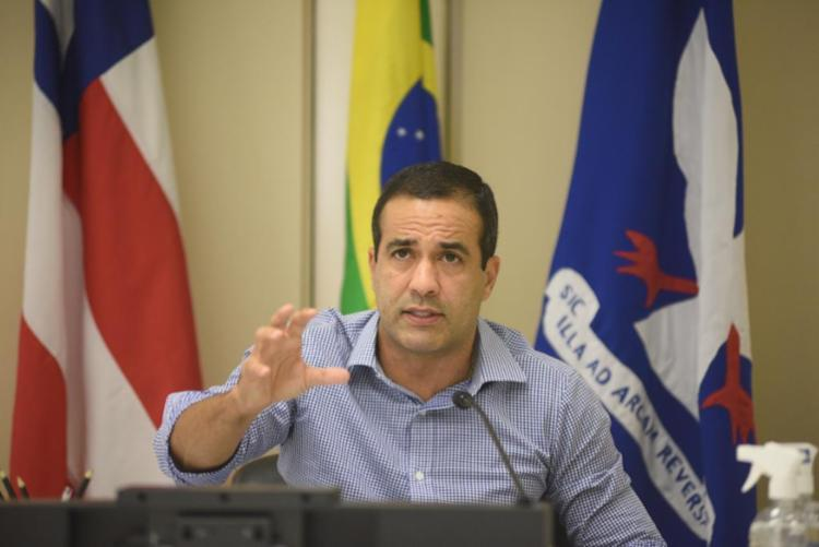 Bruno apresentou o Plano de Retomada das Atividades da Educação na capital baiana | Foto: Betto Jr | Divulgação - Foto: Betto Jr | Divulgação